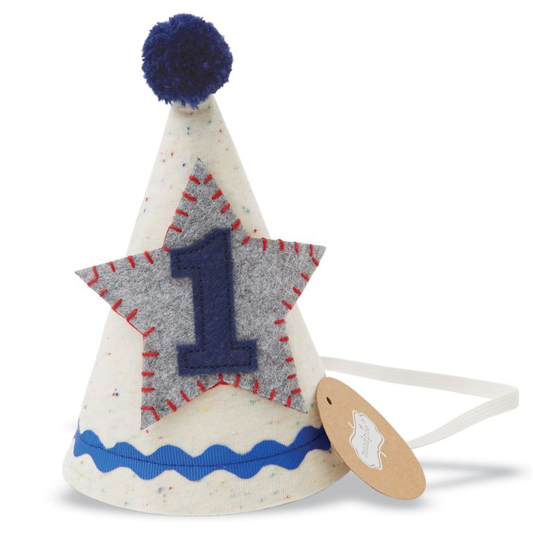 Mud Pie Birthday Boy Felt Star Party Hat