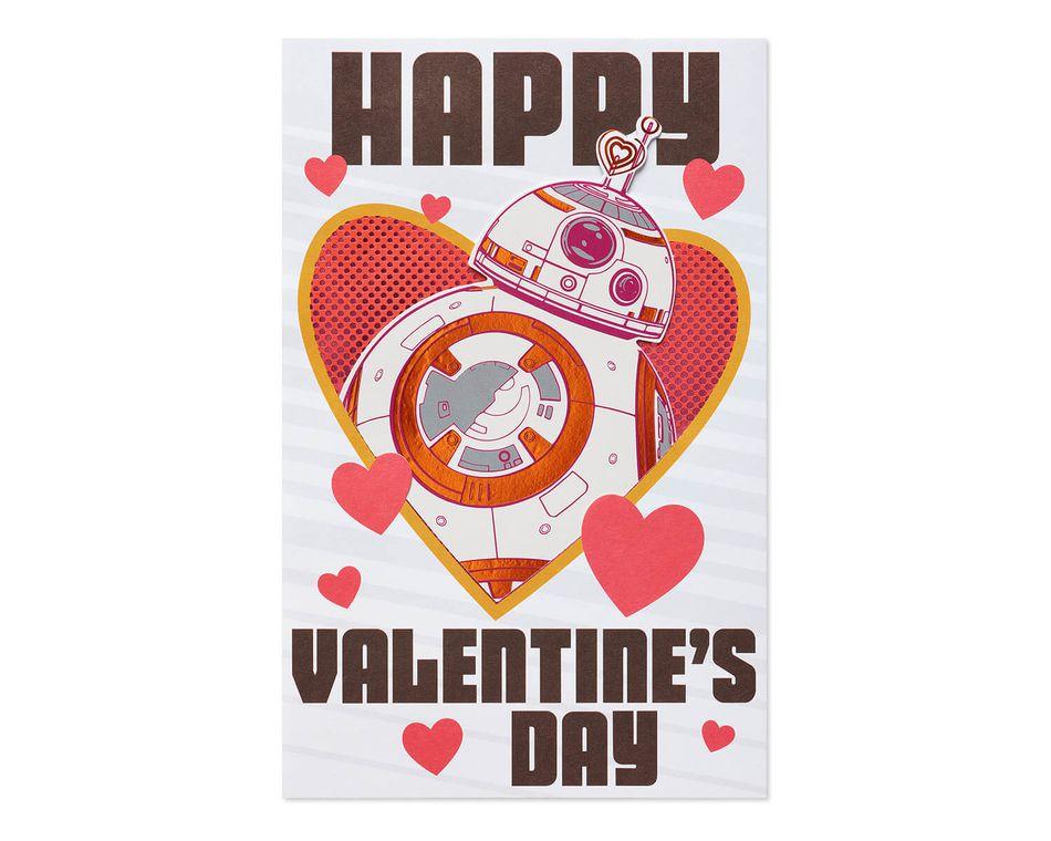 Star Wars Super Cool Valentine's Day Card