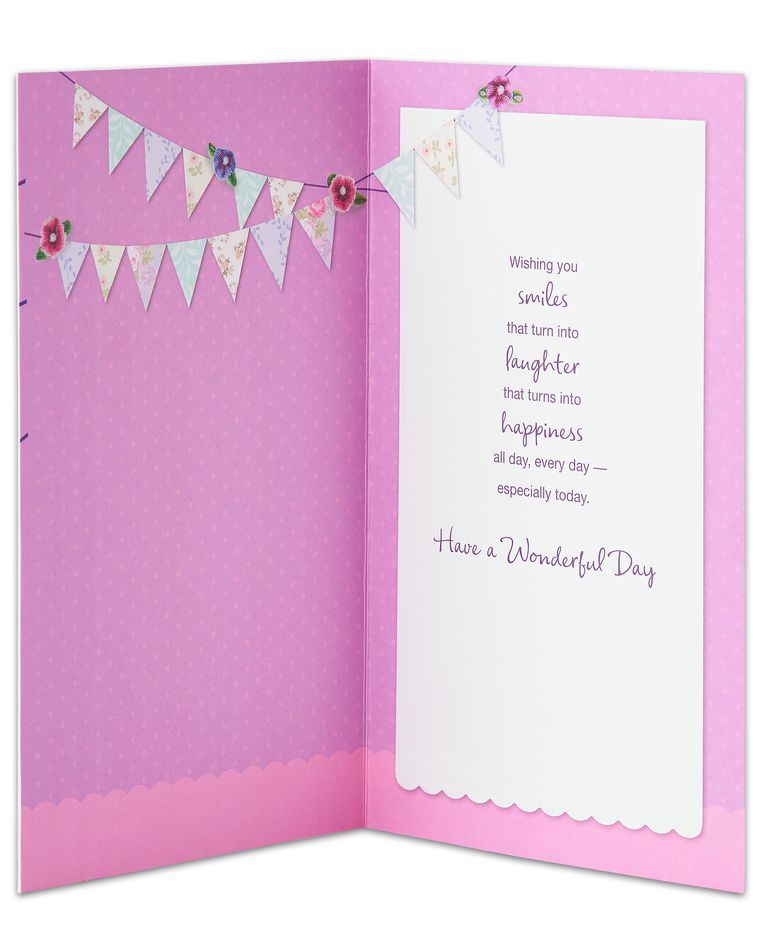 Smiles Laughter Happiness Mother's Day Card