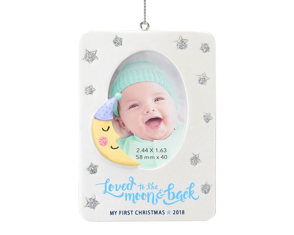 Baby\'s First Christmas Frame Ornament - American Greetings