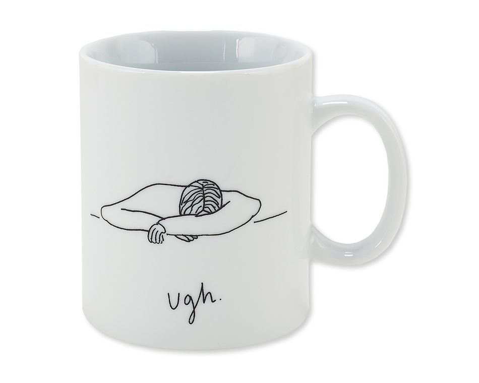 ugh coffee mug