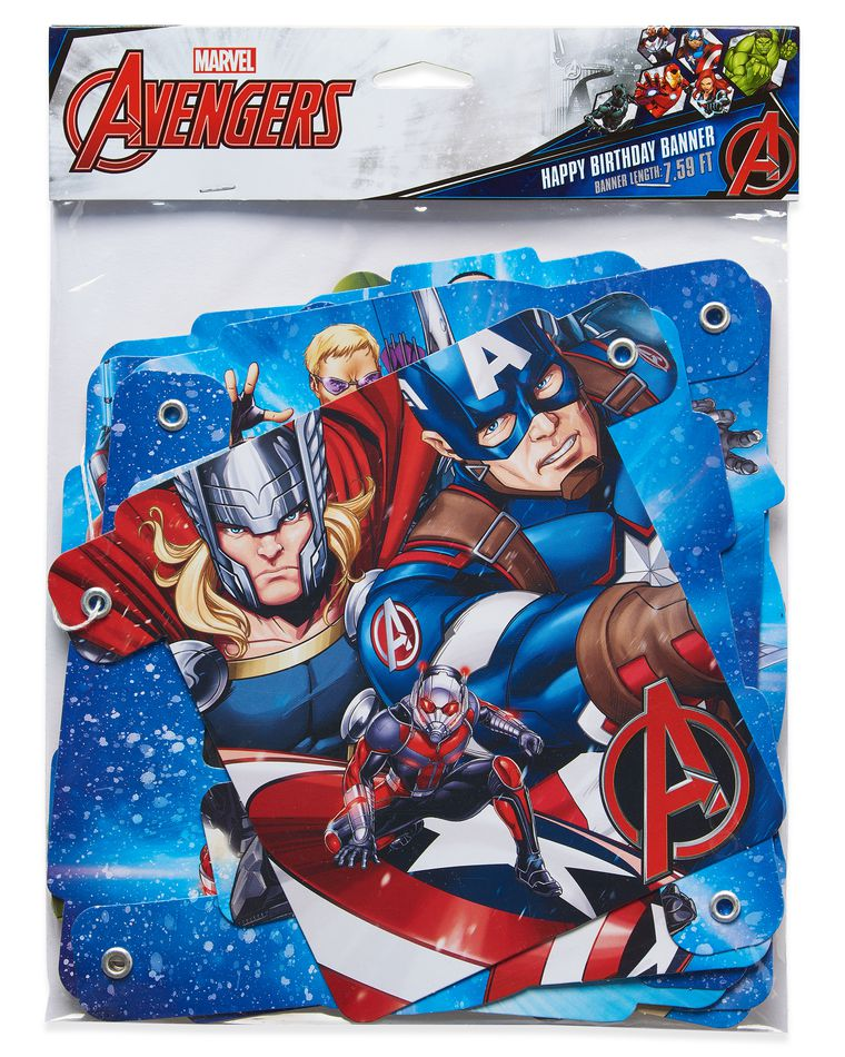 Free Comic Book Day Banner: Avengers™ Epic Birthday Party Banner