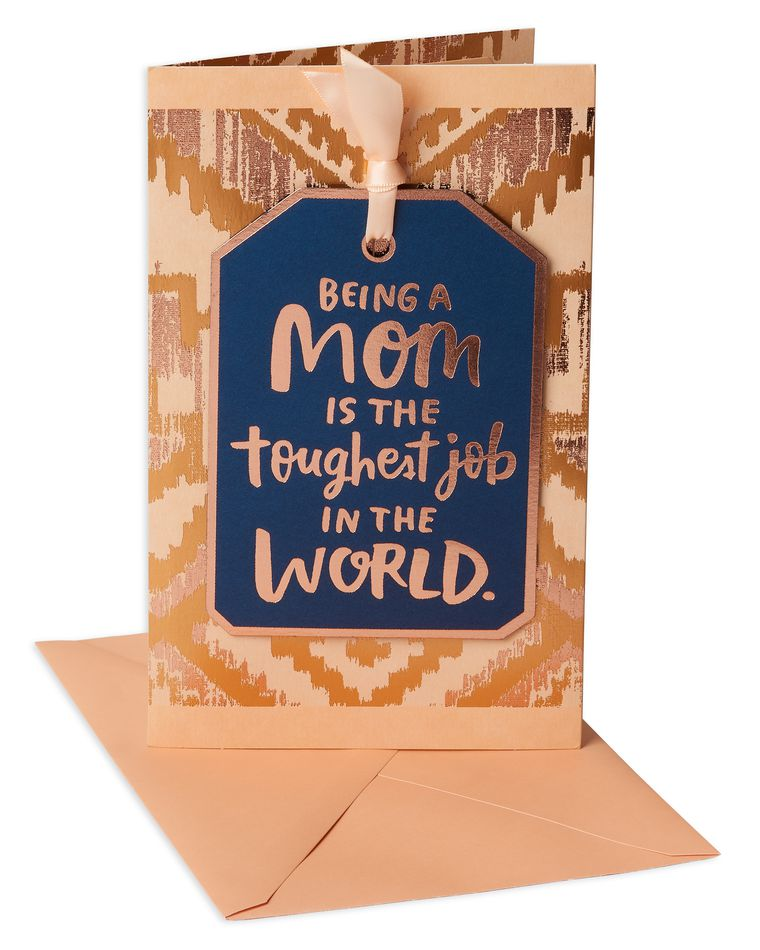 Toughest Job Mother's Day Card