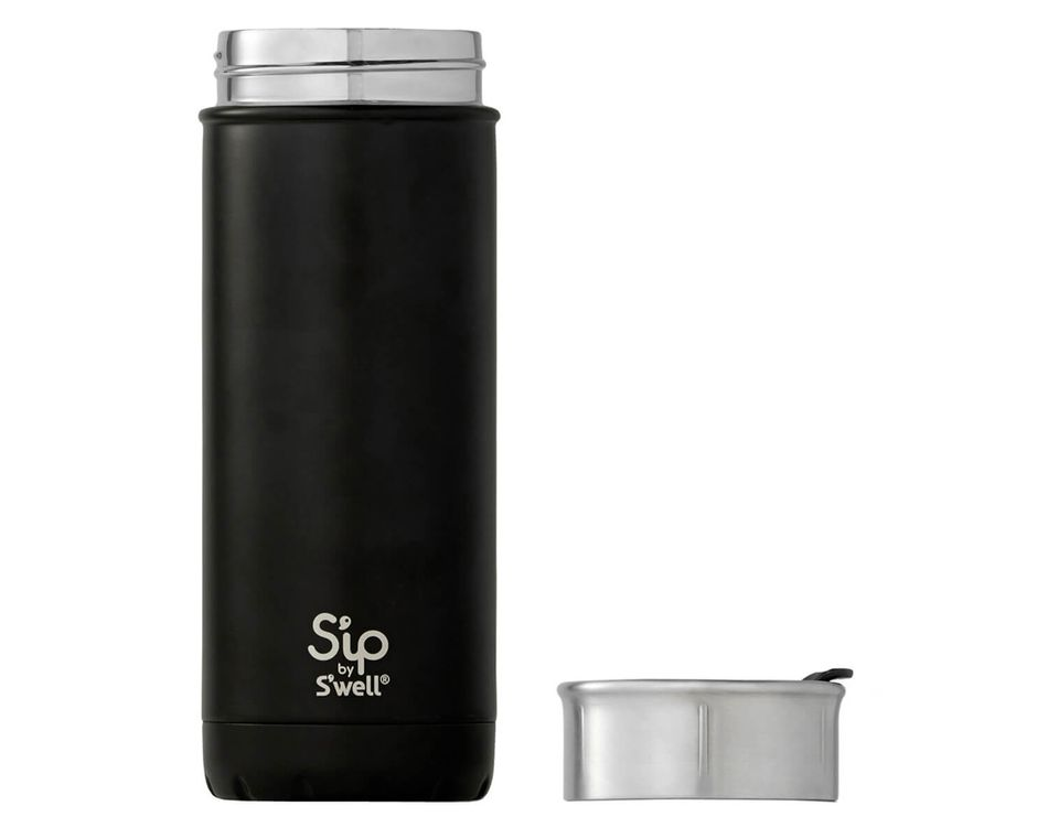 S'ip By S'well 16 Oz. Coffee Black Stainless Steel Travel Mug
