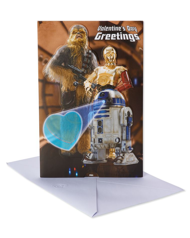 Star Wars Valentine's Day Card