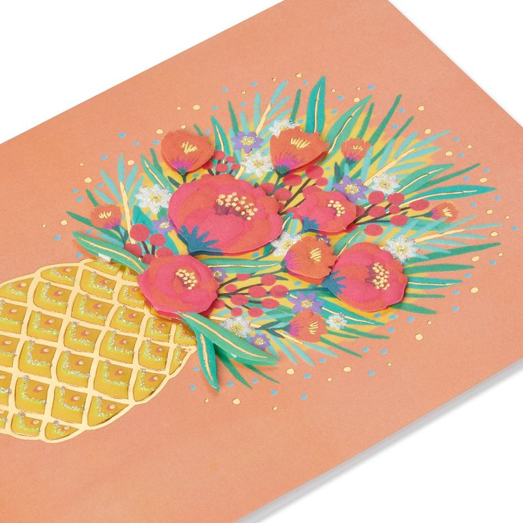 Pineapple Birthday Greeting Card