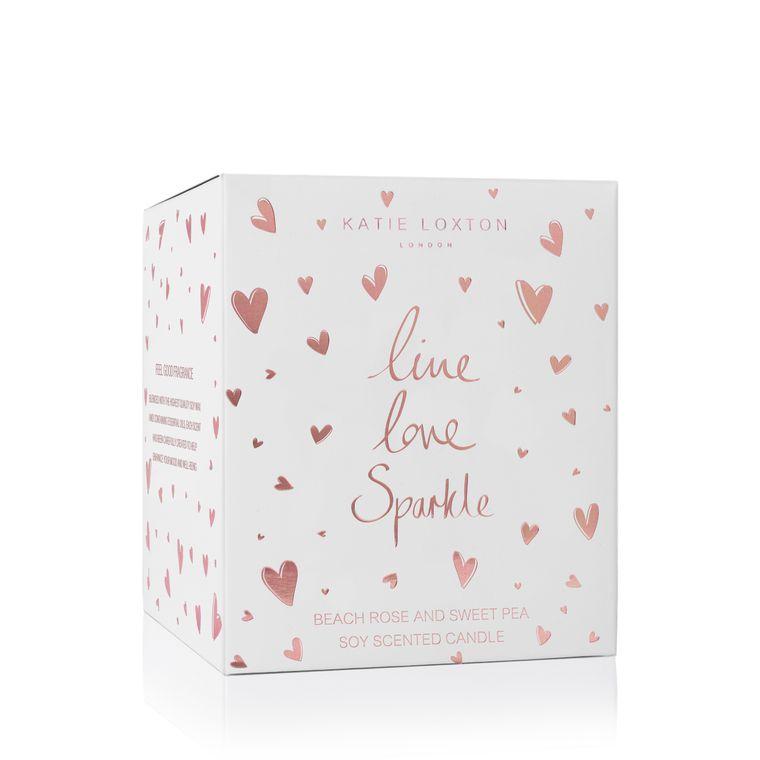 Katie Loxton Live Love Sparkle Candle