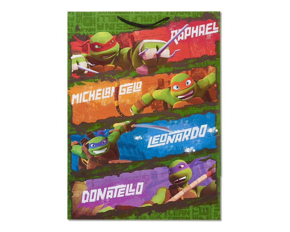 jumbo teenage mutant ninja turtles gift bag