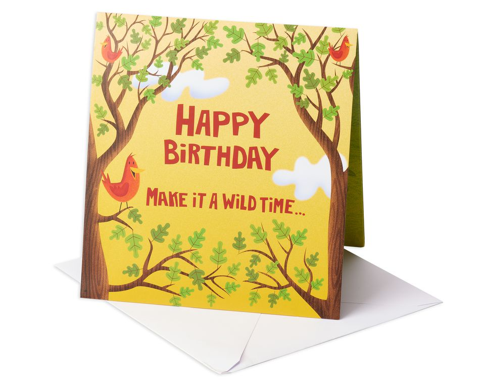 Wild Time Birthday Card