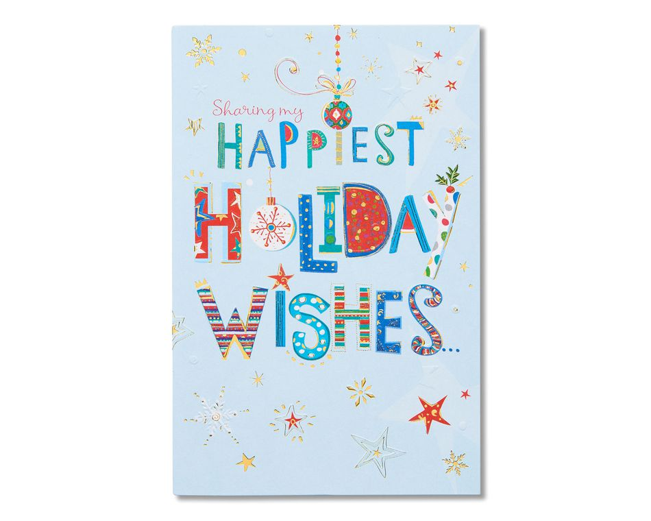 Happiest holiday wishes holiday card american greetings happiest holiday wishes holiday card m4hsunfo