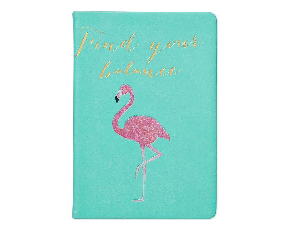 Eccolo 'Find Your Balance' Flamingo Journal