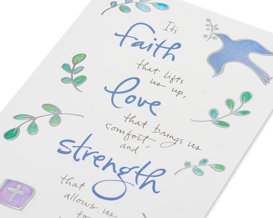 Kathy Davis Dove Sympathy Card