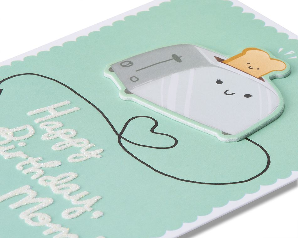 toast birthday card