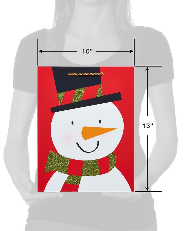 Friendly Snowman Gift Bag