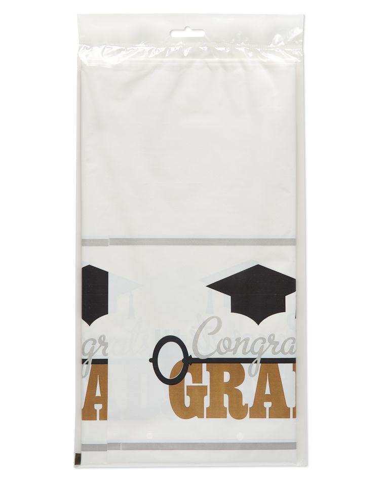 Graduation Plastic Table Cover, 54