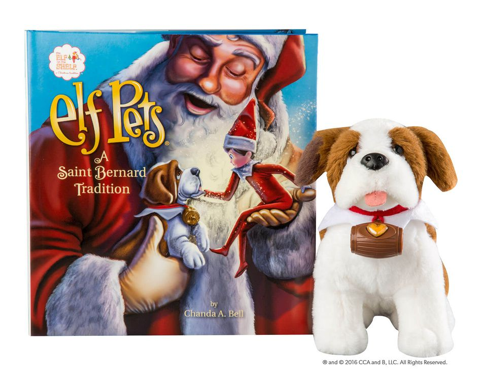 The Elf on the Shelf® Elf Pets, A Saint Bernard Tradition