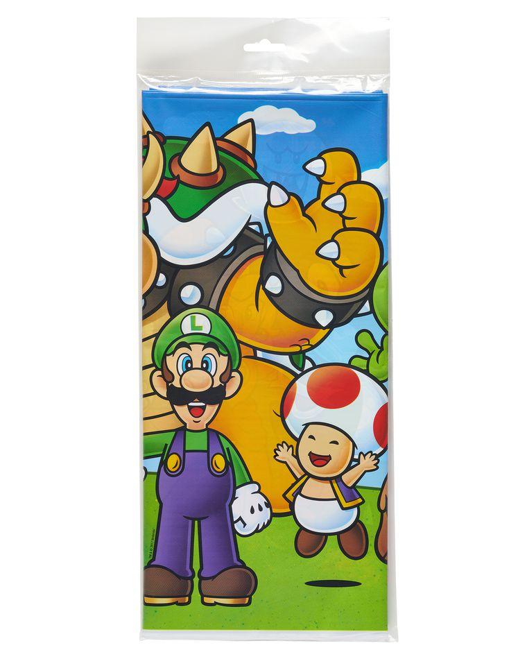 Super Mario Plastic Table Cover