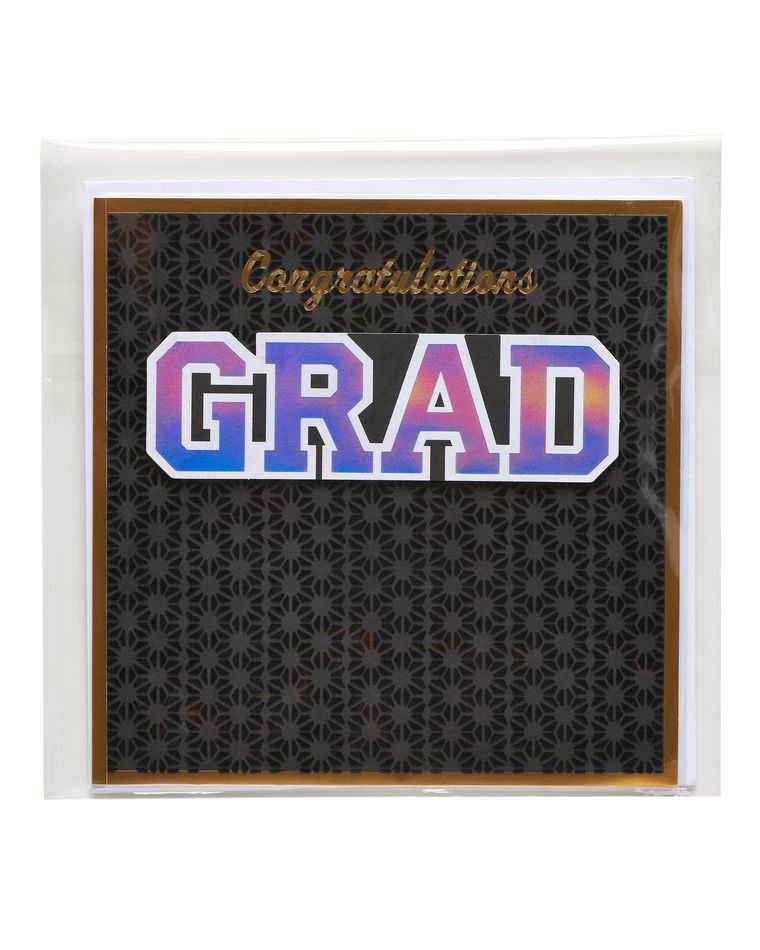 Congratulations Grad Graduation Card