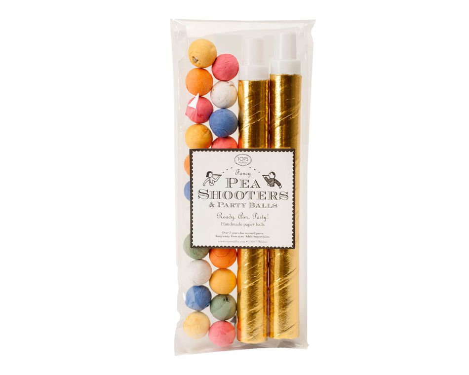 Fancy Pea Shooters, 2-Count