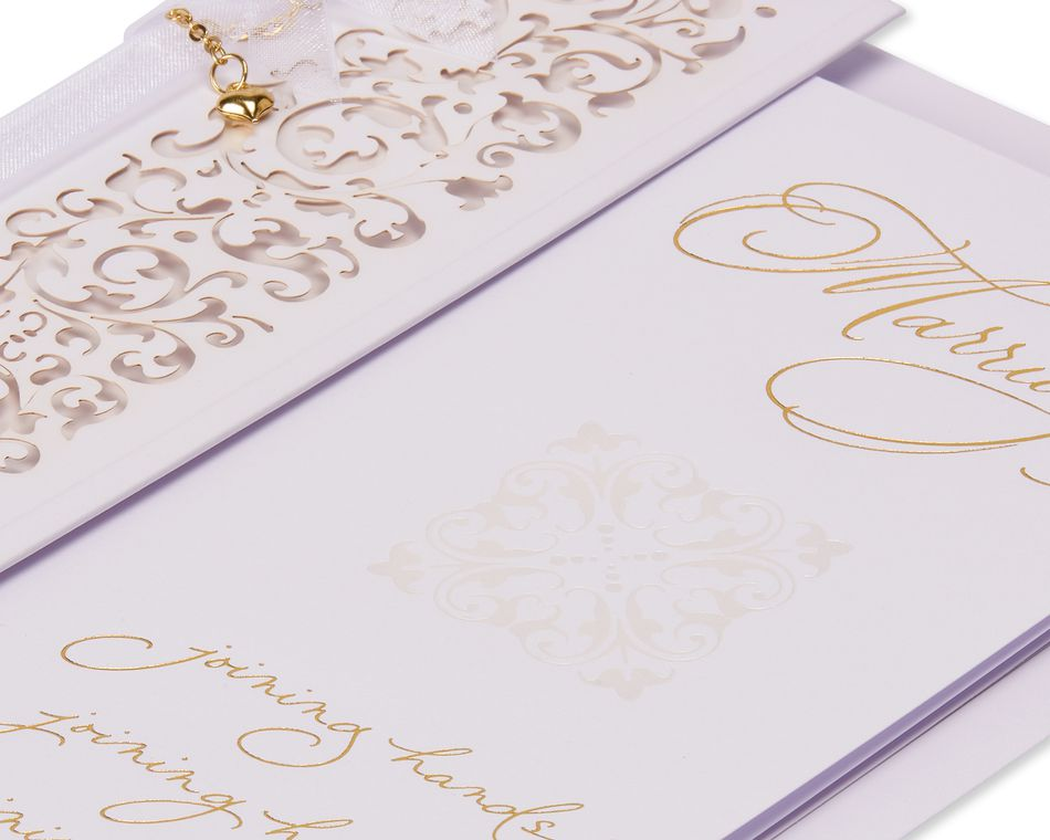 Joy Wedding Card