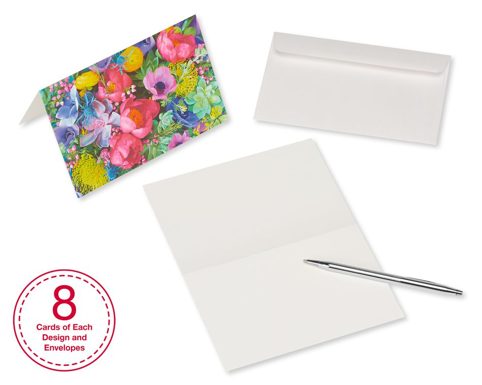 Blanks Greeting Card Bundle With White Envelopes 48 Count