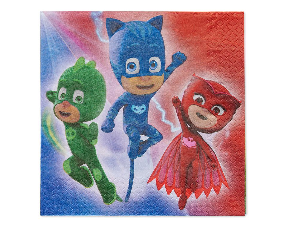PJ Masks Lunch Napkins- 16 Count