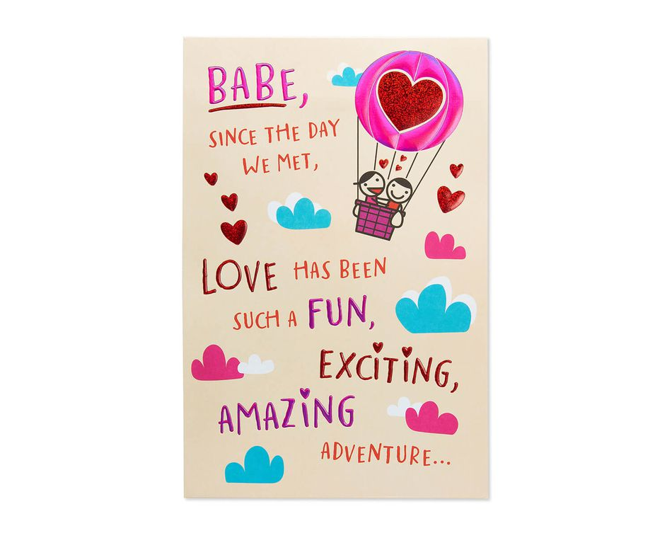 Funny Babe Valentine's Day Card for Wife