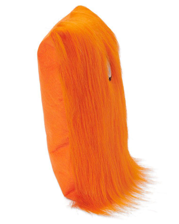 Warm Fuzzy Orange Pillow