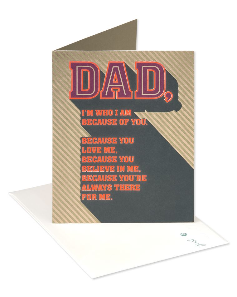 Mom's Helped Father's Day Card