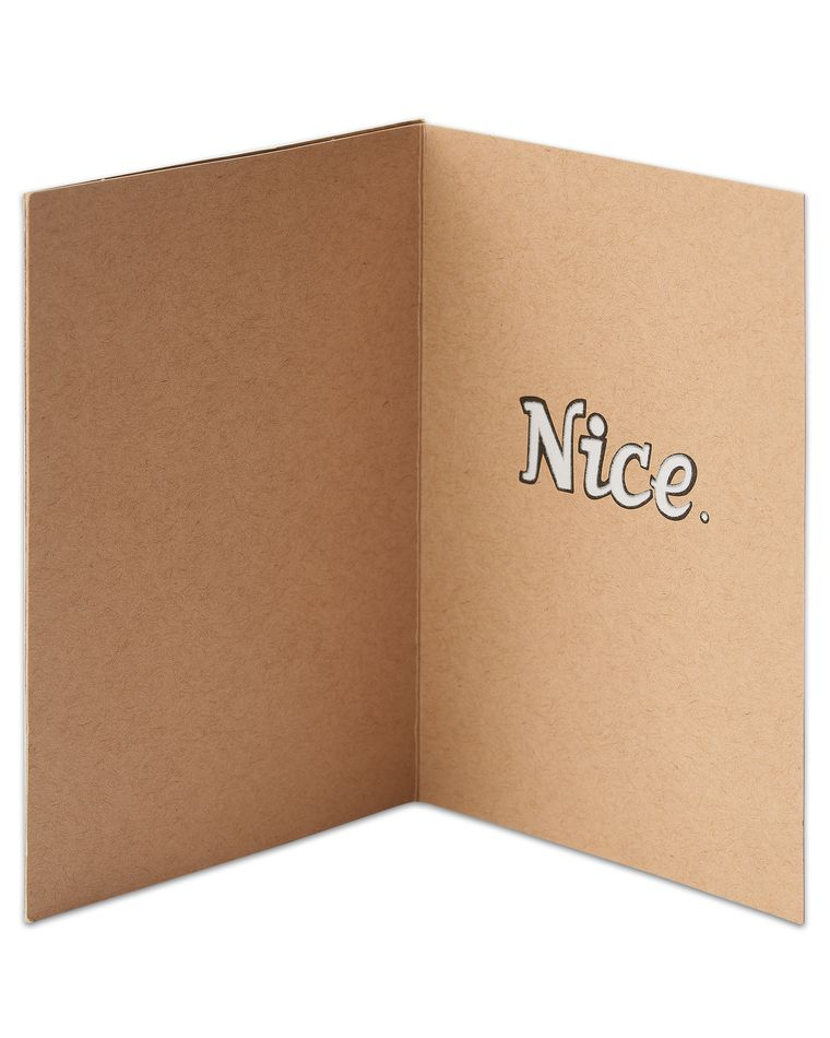 thumbs-up congratulations card