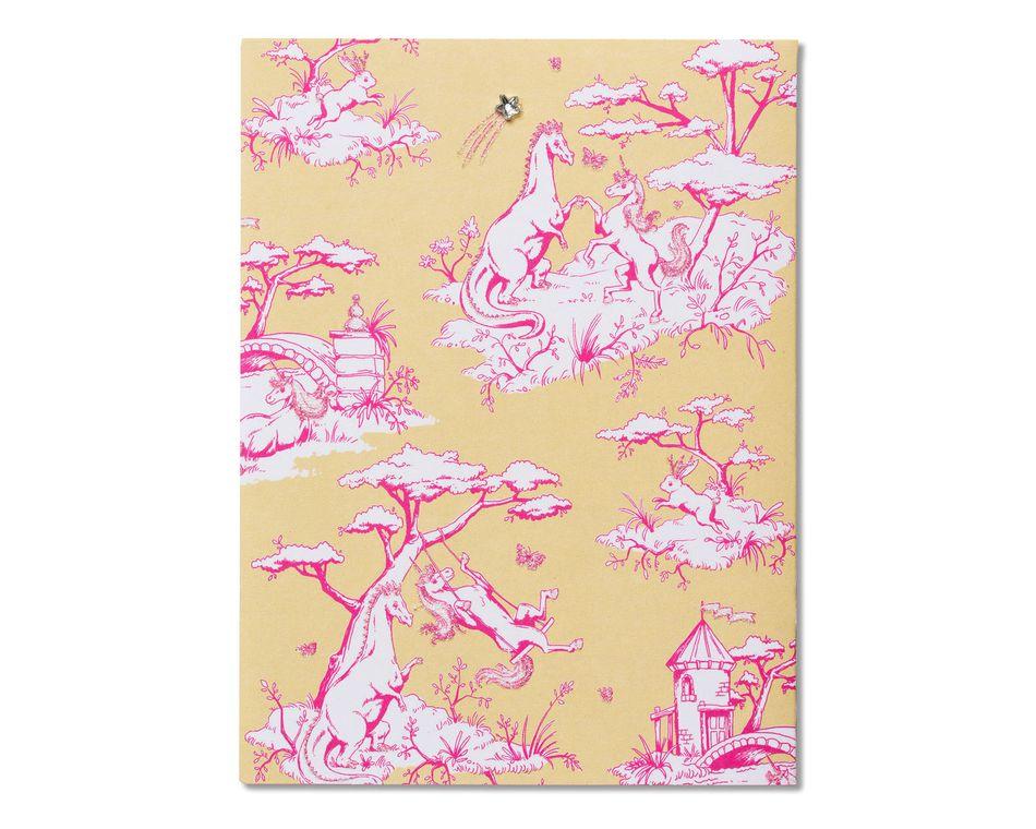 Unicorns Blank Card