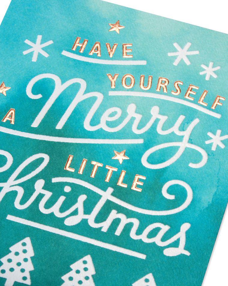 Merry Little Christmas Christmas Card