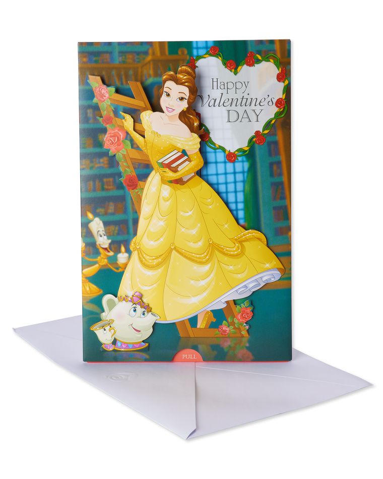 Beauty and the Beast Valentine's Day Card