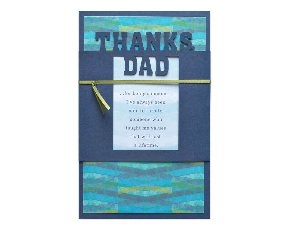 Lifetime Father's Day Card
