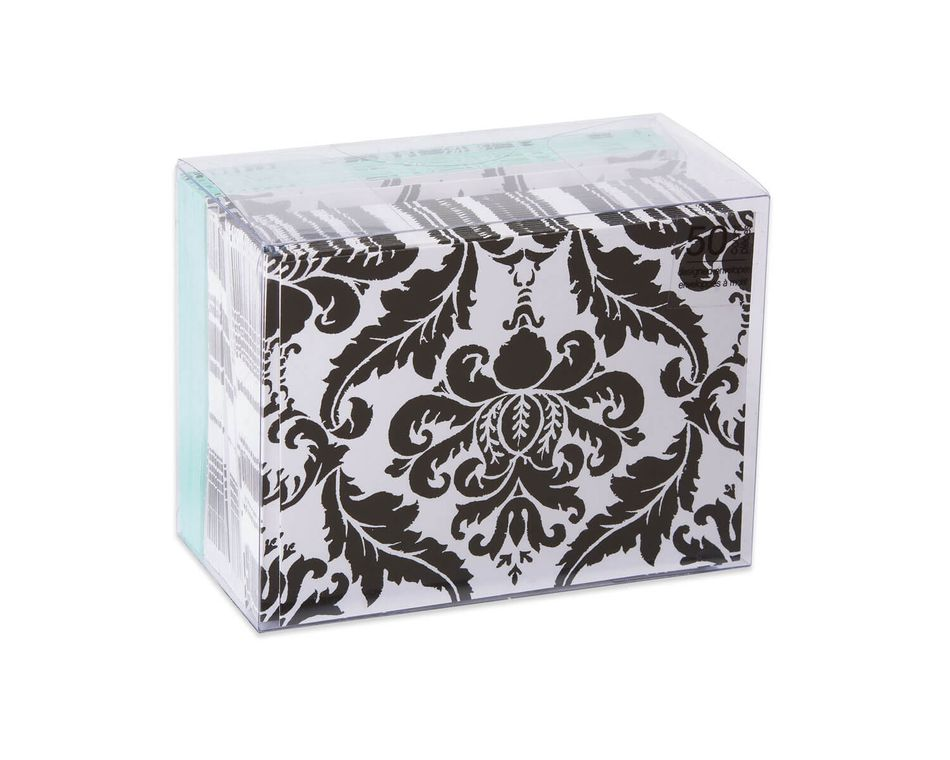 Black and white damask blank note cards and envelopes 50 count black and white damask blank note cards and envelopes 50 count m4hsunfo