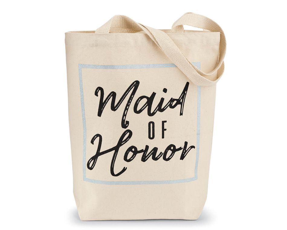 Mud Pie Maid Of Honor Tote Bag
