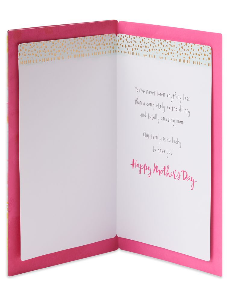 Manual Mother's Day Card