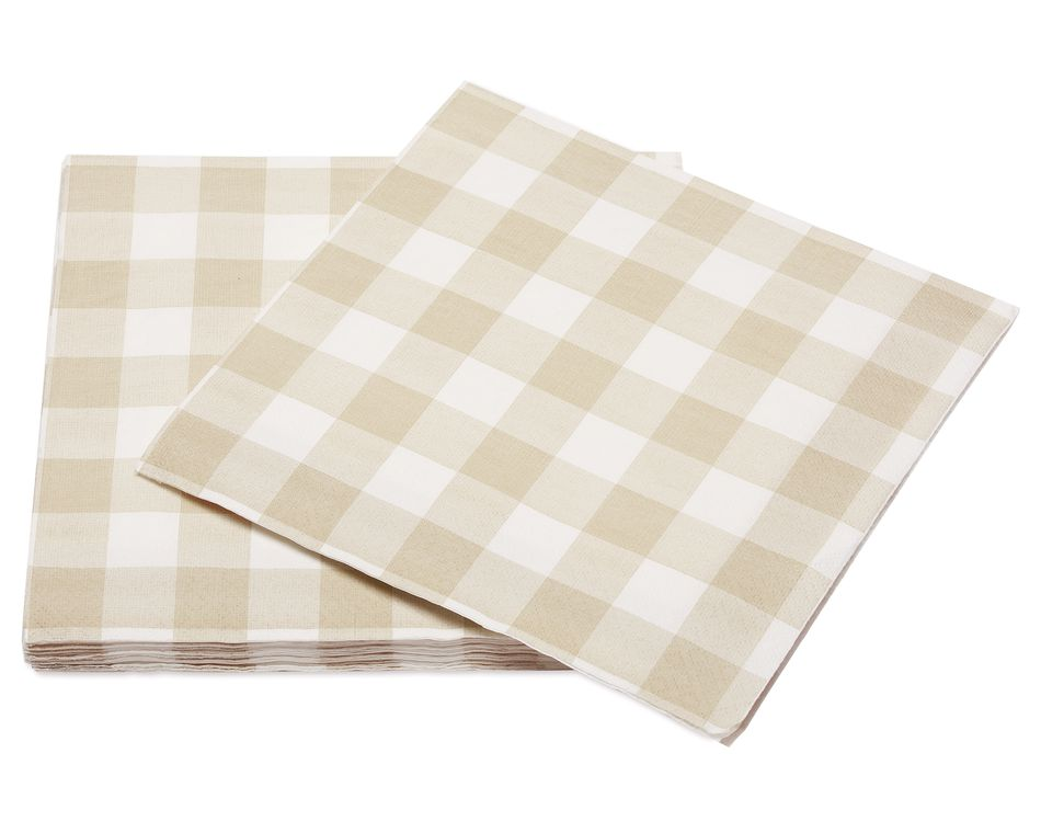 Thanksgiving Medley Paper Dinner Napkins, 16-Count