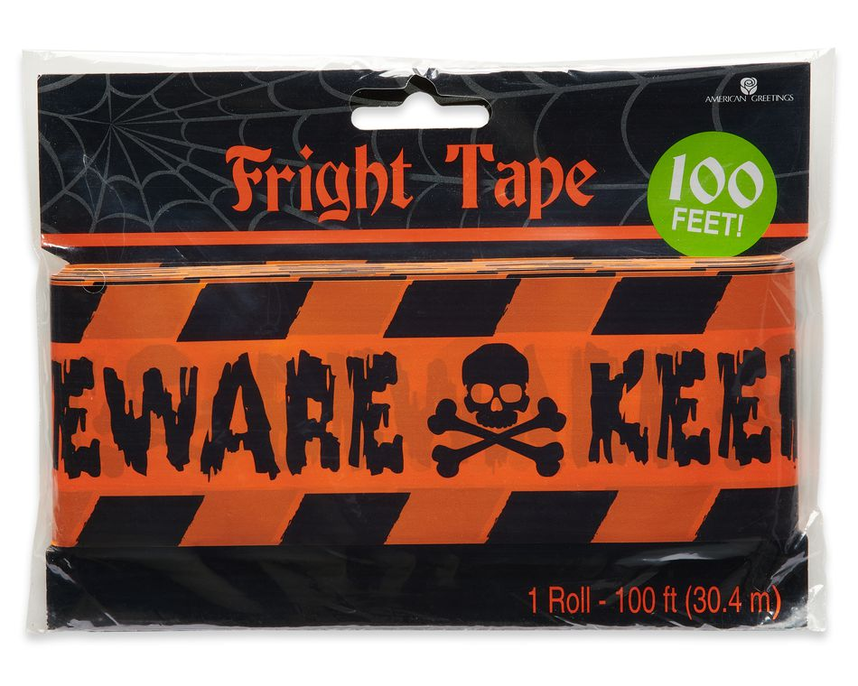 Halloween Fright Tape