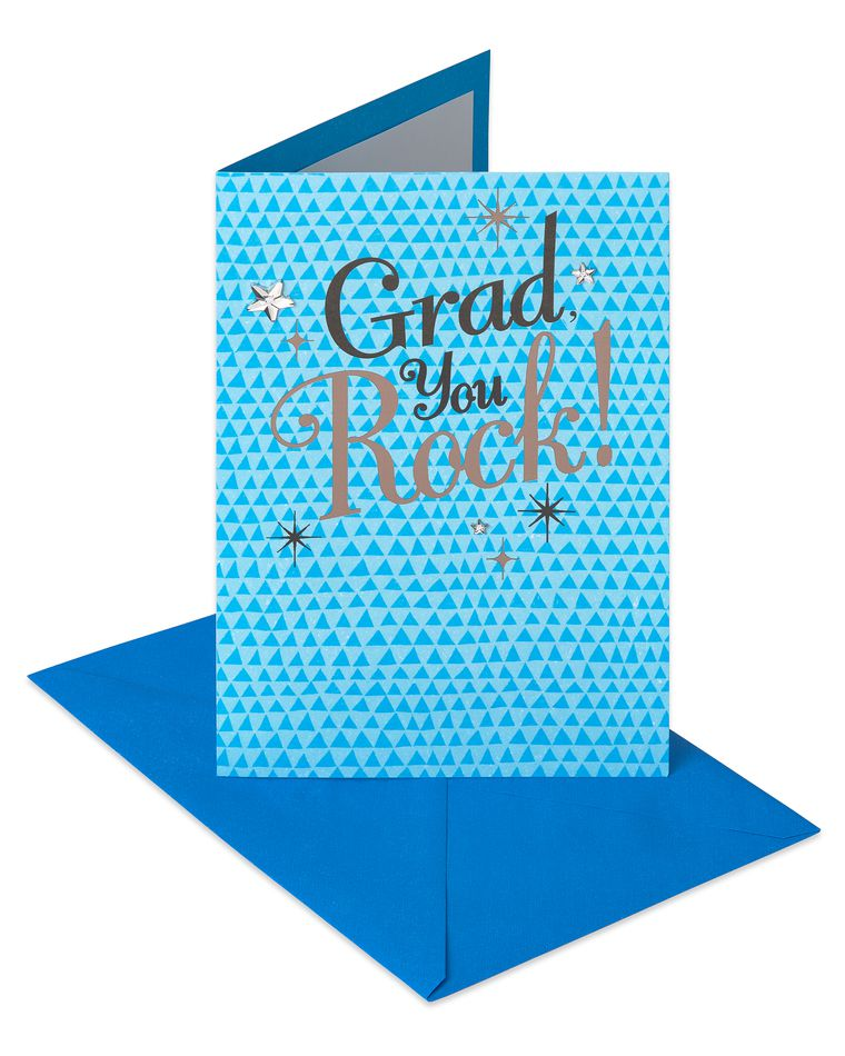 You Rock Graduation Card