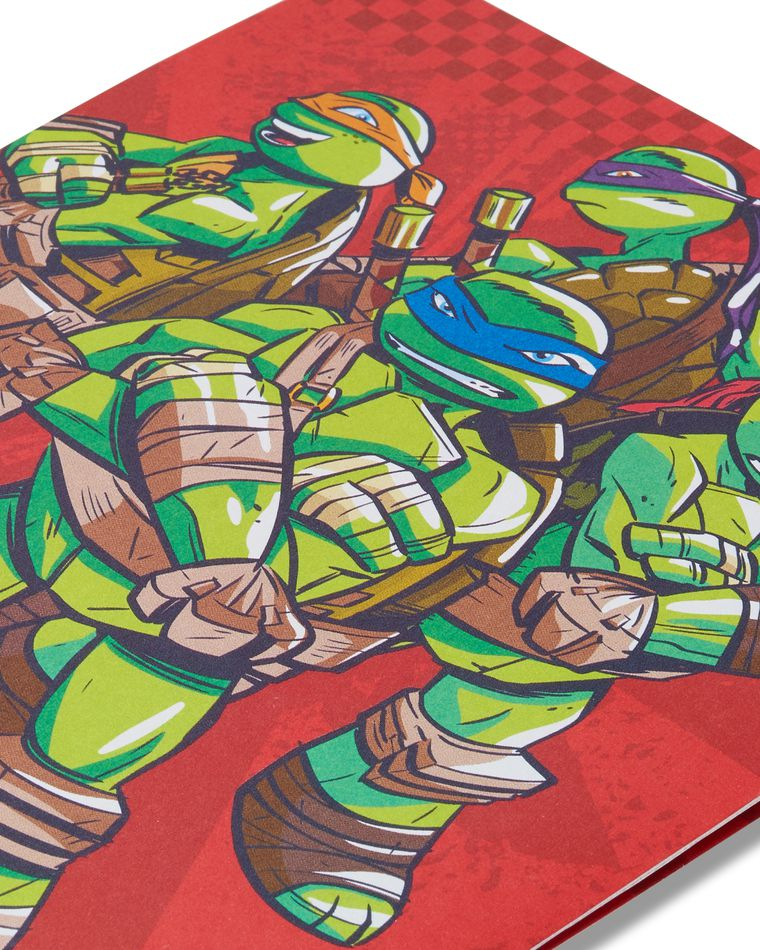 Teenage Mutant Ninja Turtles Valentine's Day Card