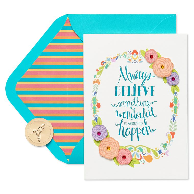 Always Believe Friendship Greeting Card