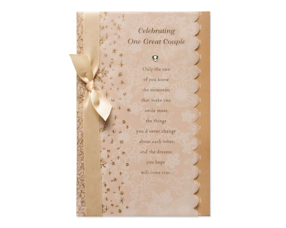 Great Couple Wedding Card