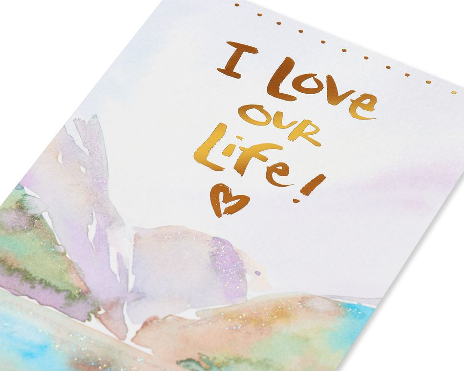 Kathy Davis Love Our Life Romantic Card