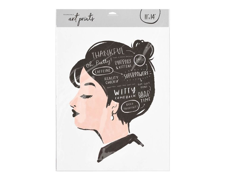 Thoughts of the Mind Frameable Art Print, 11 in. x 14 in.