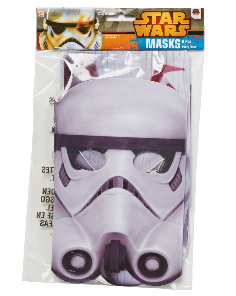 Star Wars Rebels Party Masks, 8 Count