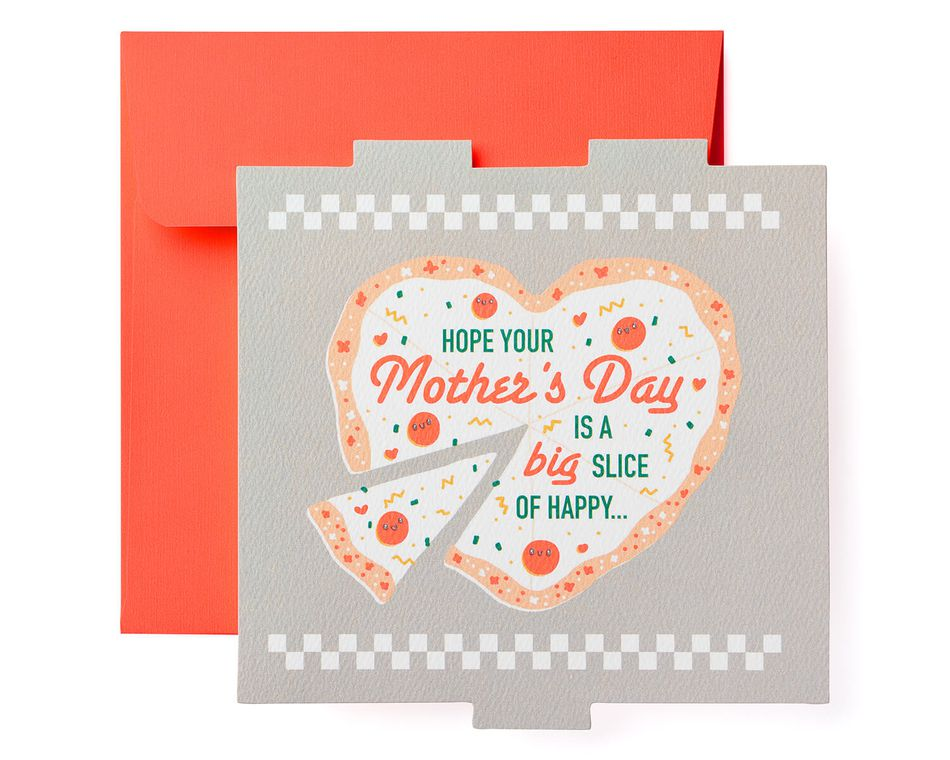Pizza Mother's Day Card