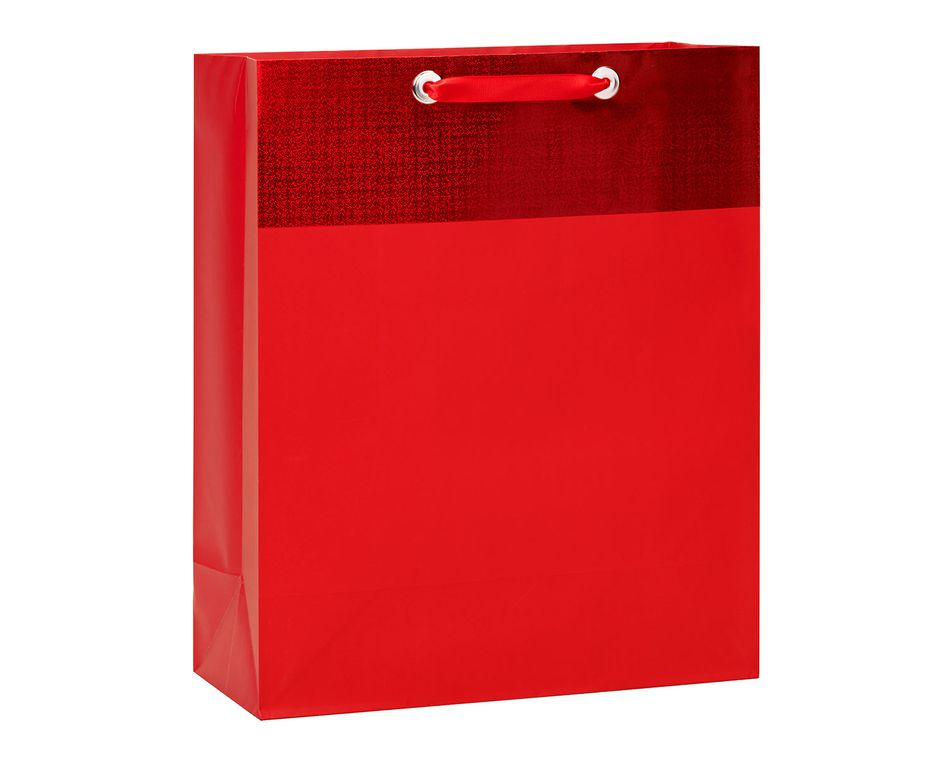 extra large red gift bag