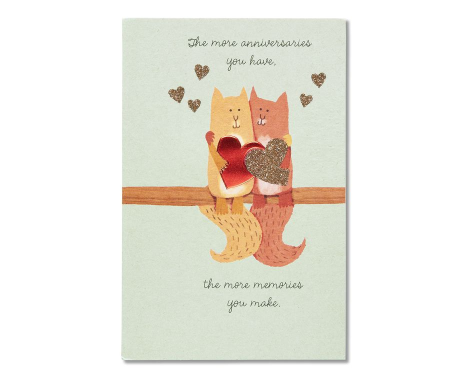 Cat anniversary card american greetings