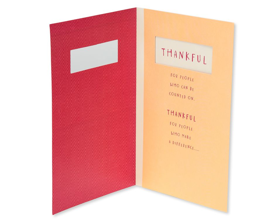 Thankful Thanksgiving Card